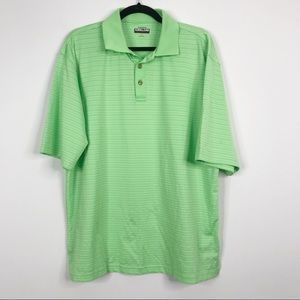Kirkland Signature Performance Polo Green Shirt L